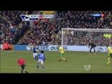 Чемпионат Англии 2012-13 / 27-й тур / Норвич - Эвертон /1